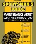 15 kg Sportsman's Pride Maintance Adult - standardfoder