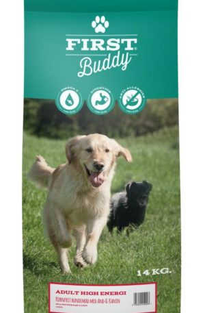 14 kg First Buddy Adult High Energy hundefoder