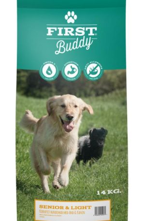 14 kg First Buddy Senior Light hundefoder